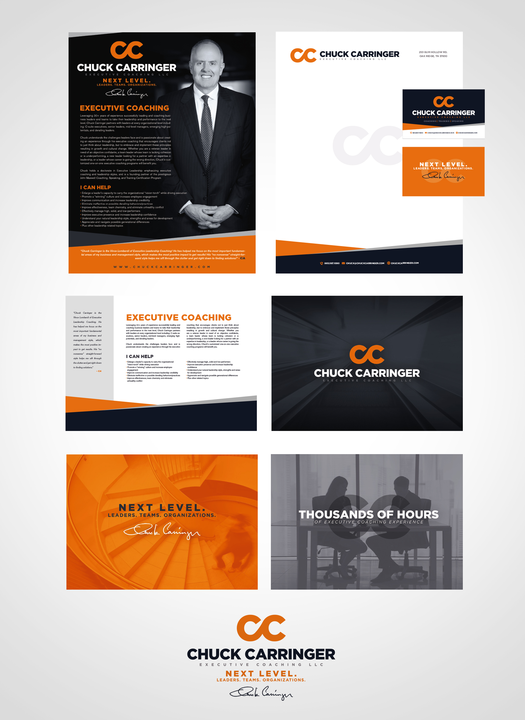 Chuck Carringer Identity Design