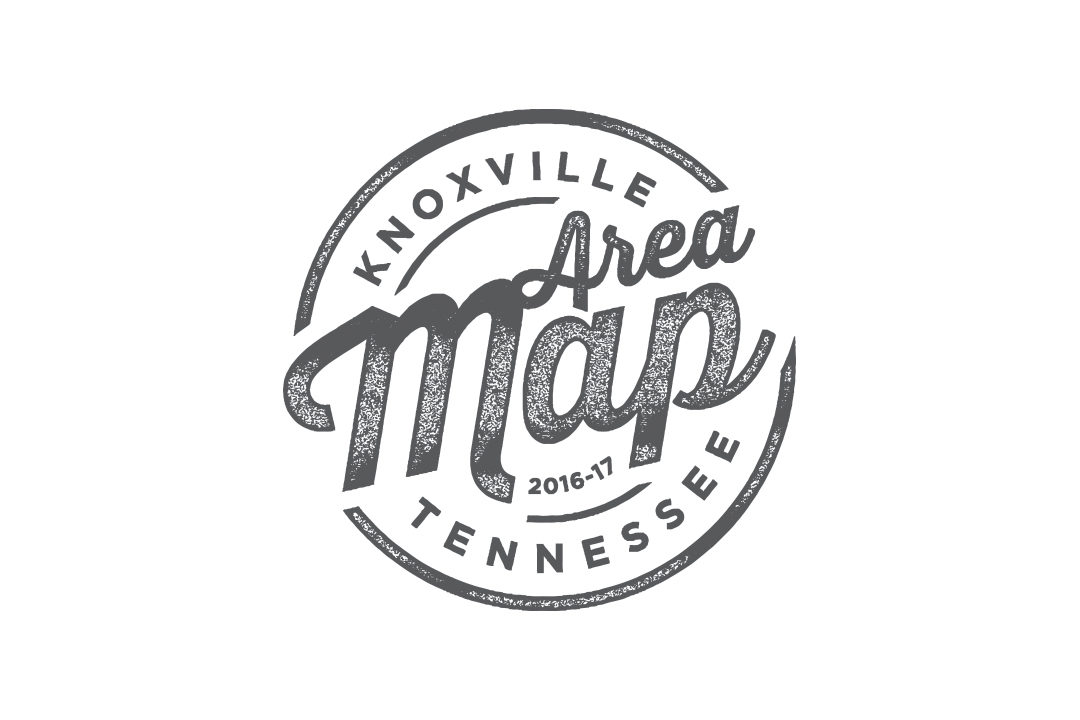Knoxville Area Map logo
