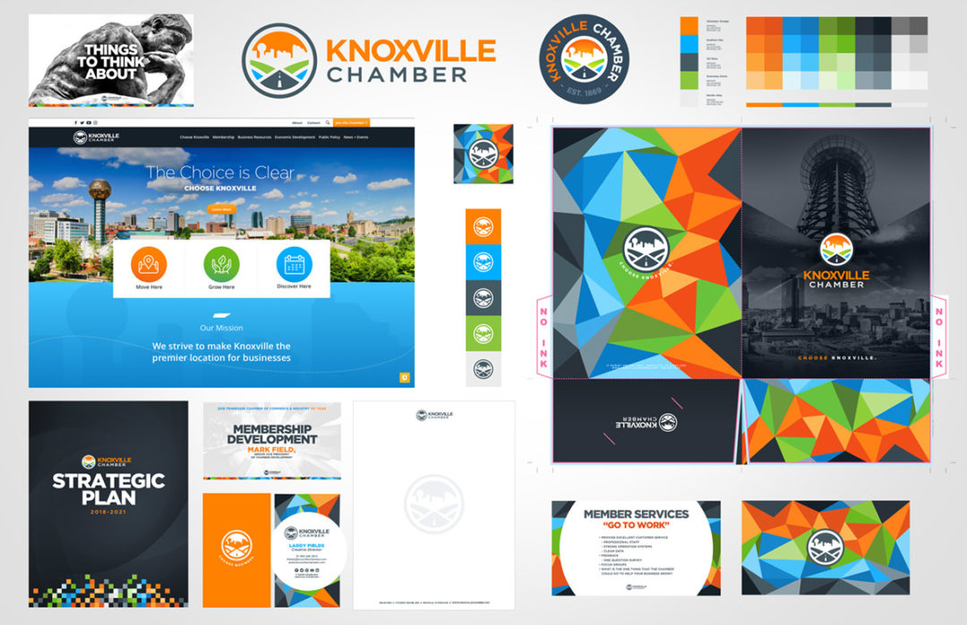Knoxville Chamber Materials Refresh