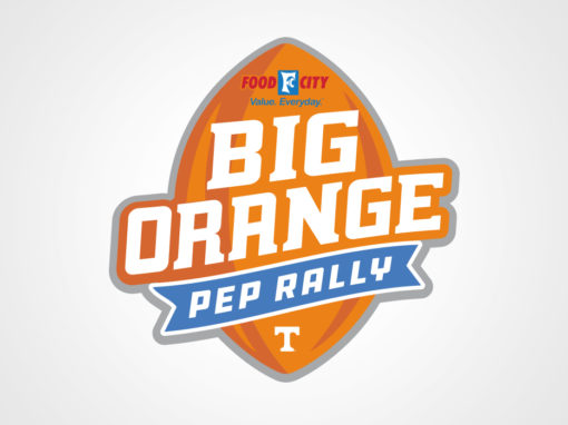 Big Orange Pep Rally logo 2018