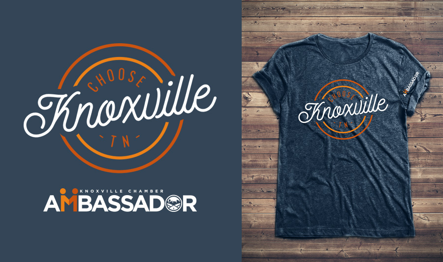Choose Knoxville Tshirt design