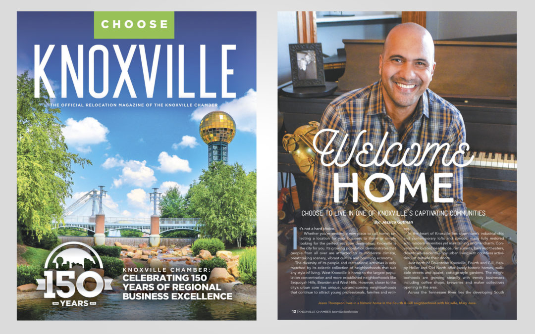 Choose Knoxville Magazine Design