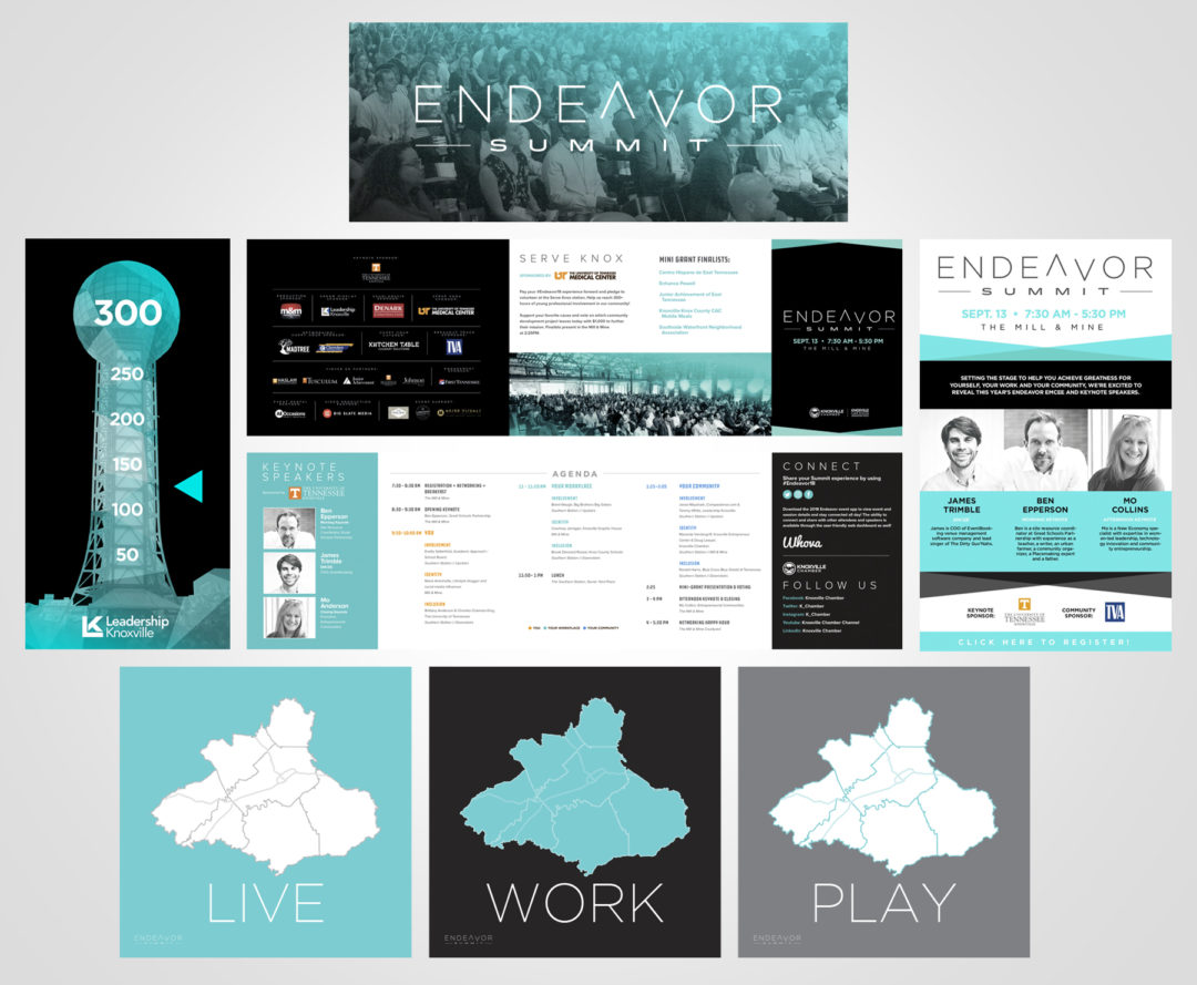 Endeavor Yp Summit Design & Branding