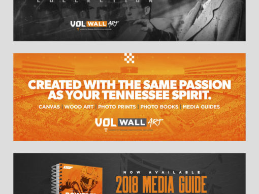 Vol Wall Art Banner Ads