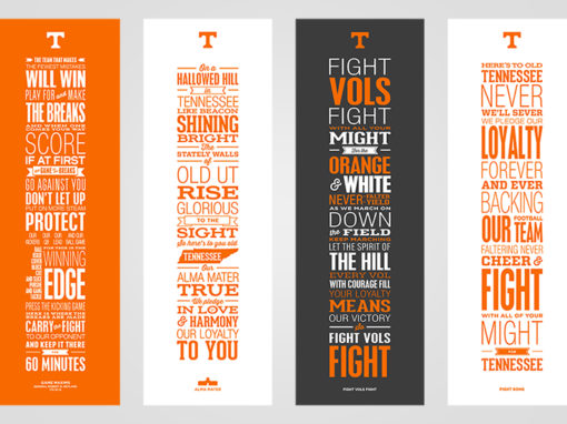 Tennessee Word Poster designs