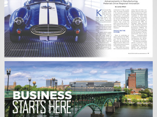 Choose Knoxville Magazine Spreads